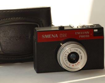Smena 8M Exclusiv Photo Soviet Small-format LOMO Russian vintage film camera N1