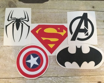 Superhero Decals/Yeti Superhero Decals/Laptop Superhero Decals