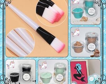 Pamper Pack - Face Masks + Brush = Value Price