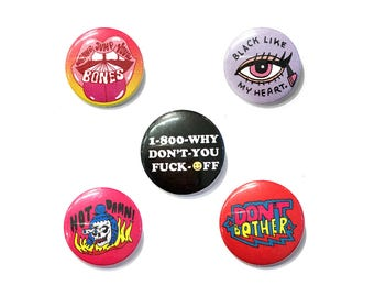 Sassy-Ass Button Pack