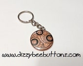 "Doctor Who - Time Lord Seal - 1.5"" Keychain"