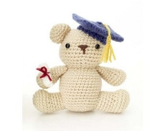 Amigurumi Graduation Bear