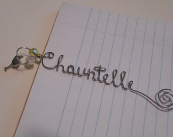 Book Charms, Bookmark, Custom Bookmark, Personalized Bookmark, Bible, Books, Reading, Bookworms, Reading Accessories, Wire Bookmarks