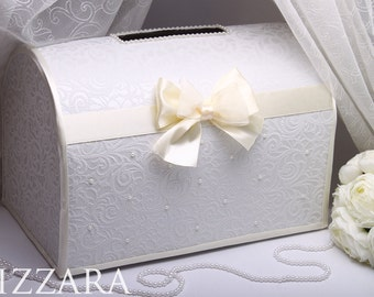 wedding box ivory wedding card box holder wedding post box money wedding gift box vintage wedding