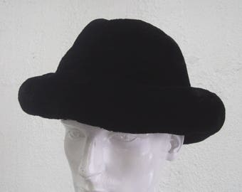 Brand new black sheared beaver fur cowboy hat men man size all custom made