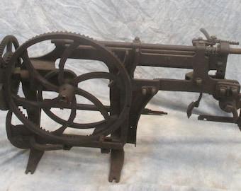 Pat 1889 Rival No 2 Apple Peeler Corer Commercial Cast Iron Hand Crank Antique