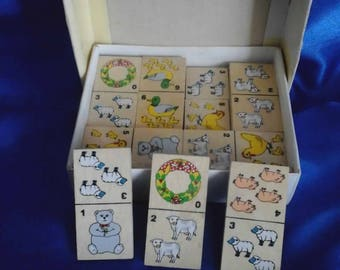 Children's Animal Dominoes Boxed