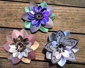 Flower Hairclips for Kristina Edwards