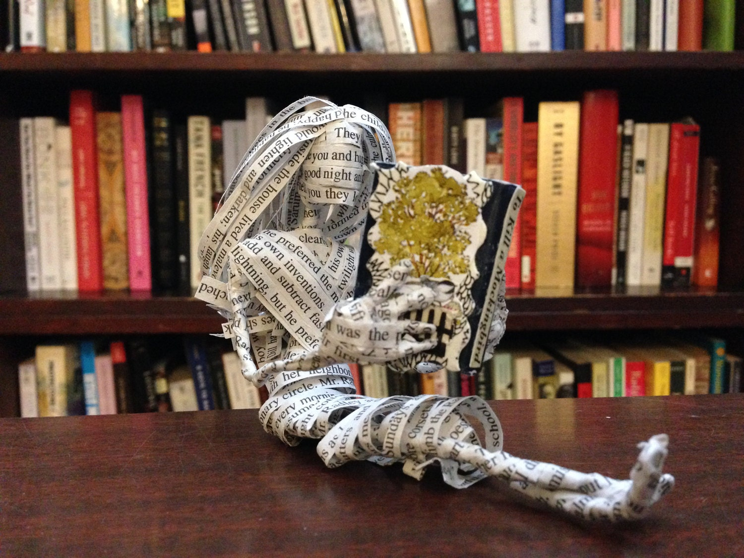 Book Art, To Kill A Mockingbird, Repurposed Book
