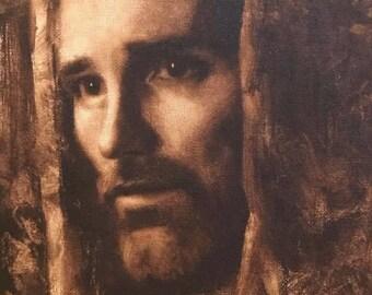 "Jesus Christ Art Print ""Christ"" by Artist Jared Barnes"