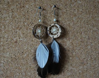 Dreamcatcher earring