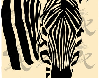 0523_Zebra wildlife Vector Animalls,Signature,Silhouette,SVG,DXF, AI, png, eps, jpg,clipart,Download files, Digital, graphical