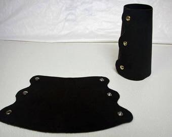 Oiled Leather Blacksmith Arm Guard