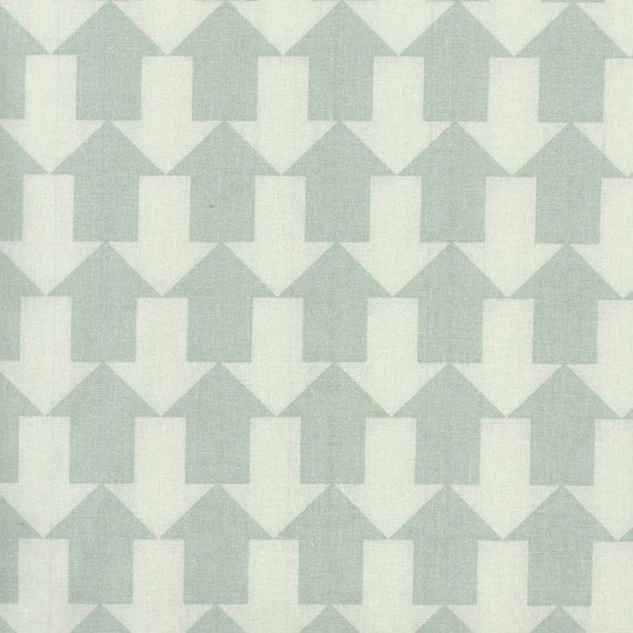 Au maison oilcloth this way dusty mint arrows coated for Au maison oilcloth