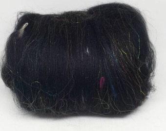 Wool Fiber Spinning Batt Cosmos