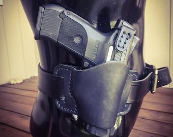 Minimal Gun Holster- solid black