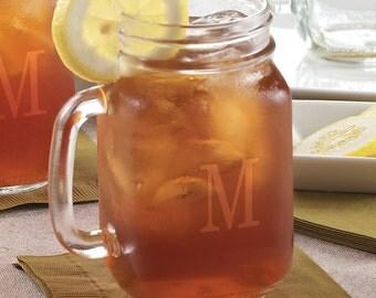 Glass Mason Jar 16 oz  (c183-3701) - Free Personalization