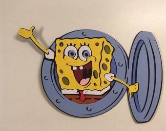 Spongebob Squarepants die cut
