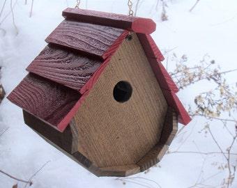 The Red Wren Birdhouse
