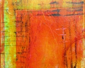 "6""x6"" Original Acrylic Abstract Painting"
