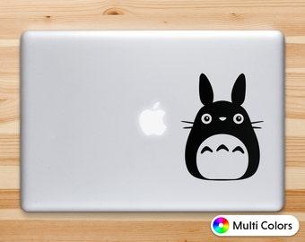 Totoro Decal, Totoro Sticker, Macbook Decals, iPhone Decals, Laptop Decals,  Car Decals, Wall Decals