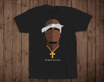 T-Shirt- Original Design Icon Design Inspired by 2Pac