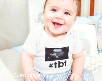 Throwback Thursday Onesie - #tbt Onesie - Tbt Onesie - Throwback Thursday - #tbt - Funny Baby Onesie - Baby Onesie - Funny Onesie