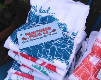 Happy Stack Sale! Old Wyoming Collection Tea Towels