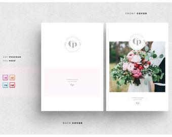 Wedding Magazine Template - Wedding Photography Pricing Template - Photography Marketing Magazine - Photography guide template