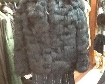Black fox section jacket