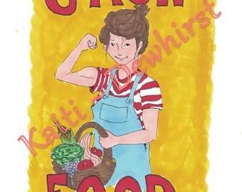 Grow Food (PRINT)