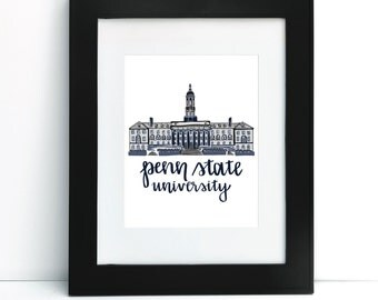 Old Main - Penn State University Print