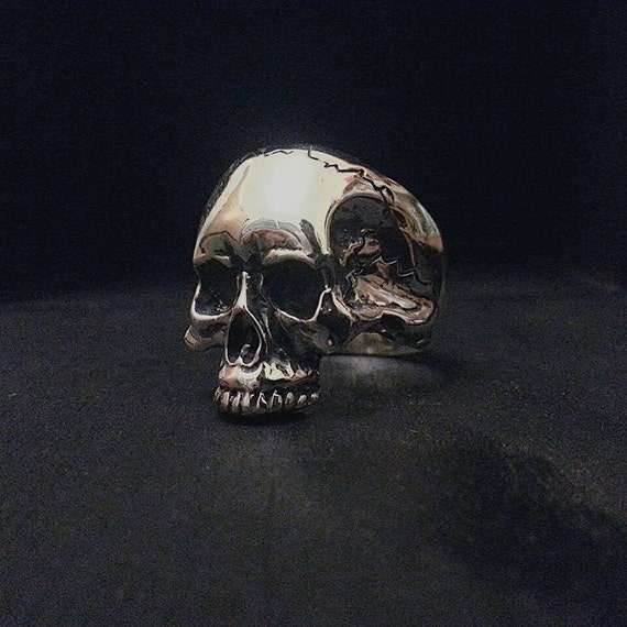 solid sterling silver halfjaw keith richards by