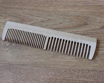 Folk art Ukrainian Souvenir Gift Hand wooden hair comb crest