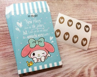 My Melody Mini Envelopes - Wonderful World