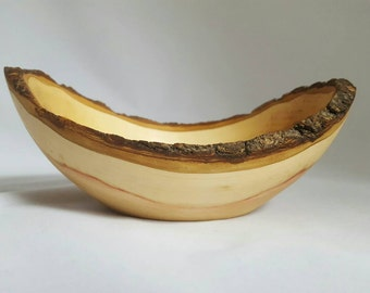 Natural Edge Boxelder Maple Bowl