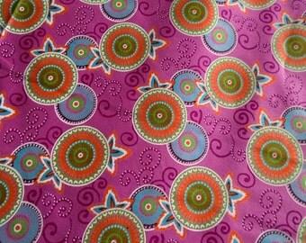 Thailand Wax Print Fabric, by the Half Yard