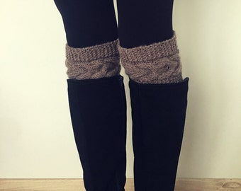 Boot Warmers - Knitted Boot Cuffs
