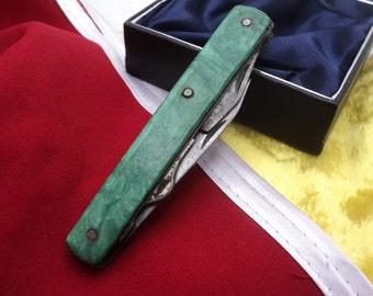 Vintage pocket knife made in USSR / travel knife / Camping Knife / Hunting Knife / Fishing Knife / soviet knife