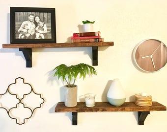 Rustic Wood Shelves // 1 Pack