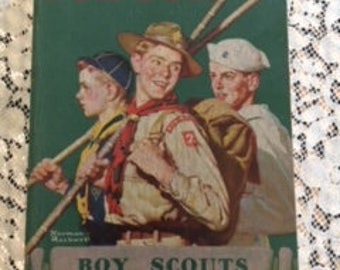 Boy Scouts Hand Book 1944