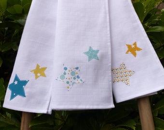 Baby burp cloth - baby gift