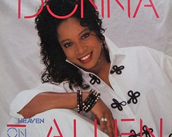 "Donna Allen - ""Heaven On Earth"" vinyl"