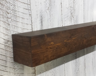 fireplace mantel beam. Small Wood Beam Mantel  Fireplace Rustic mantel Etsy