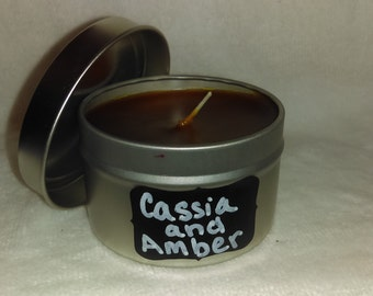 cassia and amber Tin