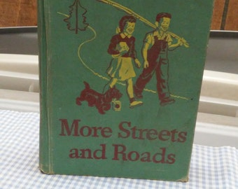 New Basic Reader 1946-47 Edition More Streets and Road, grade level 3-2