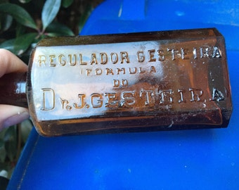 Regulador Gesteira Formula Amber Bottle - Dr. J. Gesteira