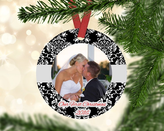 First Christmas Ornament Married First Christmas Married