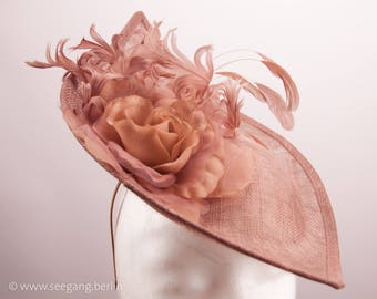 Headpiece Rosewood Wedding Derby Ascot