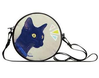 GASP CAT! Adorable Side Satchel